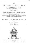 The Science and Art Geometry