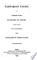 Tartarian Tales Or A Thousand And One Quarters Of Hours