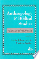 Anthropology and biblical studies