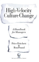 High-velocity culture change