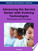 Advancing the Service Sector with Evolving Technologies  Techniques and Principles
