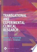 Translational and Experimental Clinical Research Book