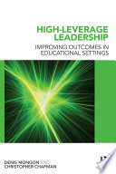 High leverage Leadership Book