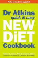 Dr  Atkin s Quick   Easy New Diet Cookbook