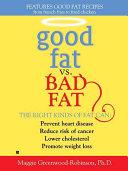 Good Fat vs. Bad Fat Pdf