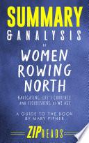 Summary   Analysis of Women Rowing North Book