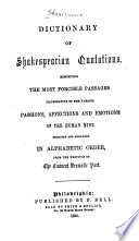 Dictionary of Shakespearian Quotations