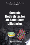 Ceramic Electrolytes for All-solid-state Li Batteries