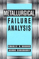 Metallurgical Failure Analysis Book PDF
