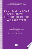 Equity  Efficiency and Growth