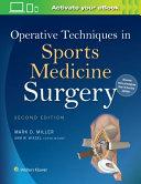 Operative Techniques in Sports Medicine Surgery Book