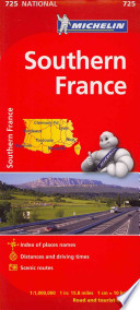 Michelin Southern France / Michelin France Sud
