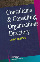 Consultants   Consulting Organizations Directory  2v Set