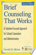 Brief Counseling That Works Book PDF