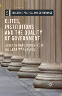 Elites, Institutions and the Quality of Government Pdf/ePub eBook