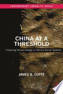 China At A Threshold
