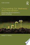 Counseling for Wellness and Prevention Book