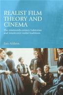 Realist Film Theory and Cinema