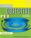 Objective proficiency : [new for december 2002 exam specifications]. [1]. Self-study student's book