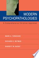 Modern Psychopathologies Book PDF