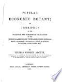 Popular Economic Botany