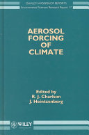 Aerosol Forcing of Climate