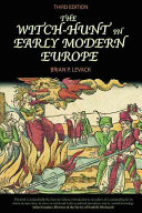 The Witch hunt in Early Modern Europe