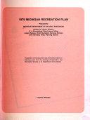 Michigan Recreation Plan Summary Book