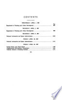 Department of Housing and Urban Development and certain independent agencies appropriations for fiscal year 1988