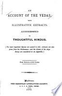 An Account of the Vedas