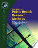 Essentials of Public Health Research Methods Book