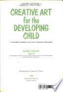Creative Art For The Developing Child Book PDF