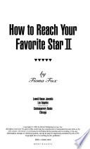 How to Reach Your Favorite Star II