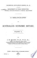 A Bibliography of Australian Economic Botany