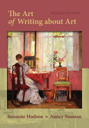 The Art of Writing About Art Book