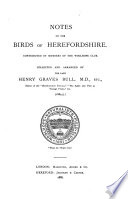 Notes on the Birds of Herefordshire