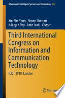 Third International Congress on Information and Communication Technology