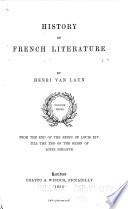 From the end of the reign of Louis XIV till the end of the reign of Louis Philippe