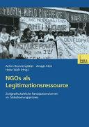 NGOs als Legitimationsressource