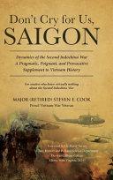 Don t Cry For Us  Saigon