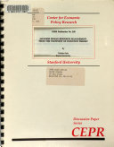Japanese Human Resource Management from the Viewpoint of Incentive Theory