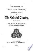 The Rhythm of Bernard de Morlaix, Monk of Cluny, on The Celestial Country