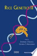 Rice Genetics II Book