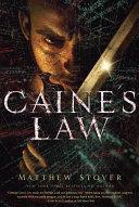 Pdf Caine's Law Telecharger