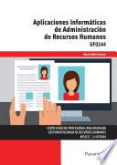 UF0344 - Aplicaciones informáticas de administración de recursos humanos