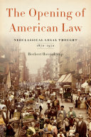 The Opening of American Law Pdf/ePub eBook