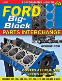 Ford Big-Block Parts Interchange