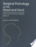 Surgical Pathology Of The Head And Neck Book PDF
