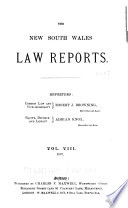 The New South Wales Law Reports 1880 1900