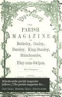 The Parish Magazine for Berkeley  Dursley  Stinchcombe  and Uley